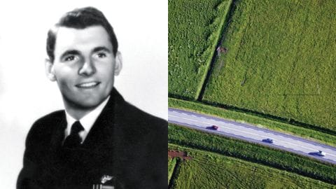 Founder Jack Taylor and Road with cars